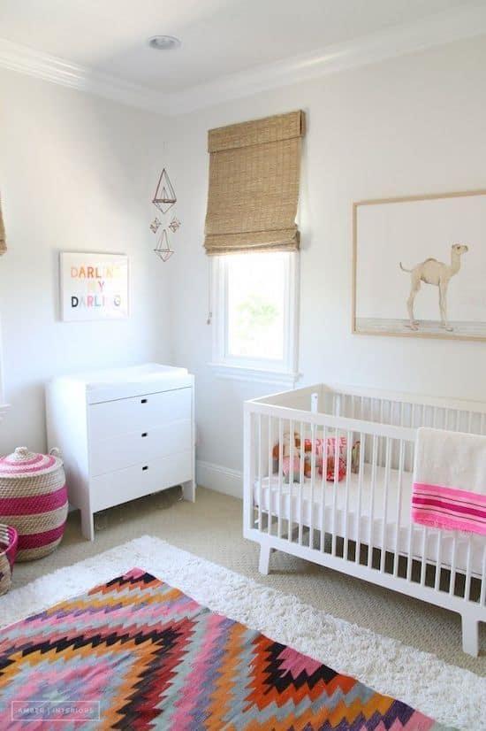 Mediterranean Baby Girl Nursery Ideas