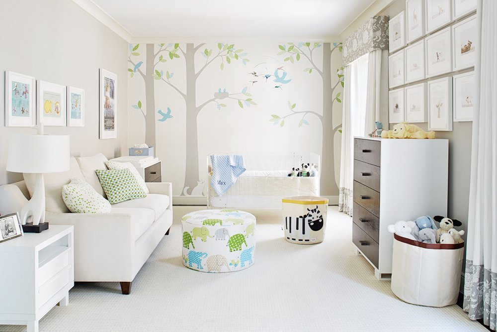 Nature Themed Baby Girl Room Ideas