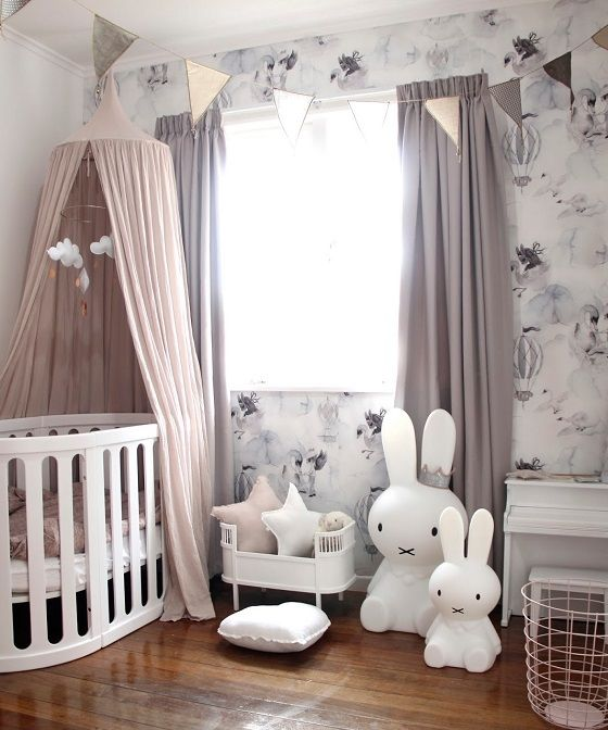 Rabbit Themed Baby Room Ideas