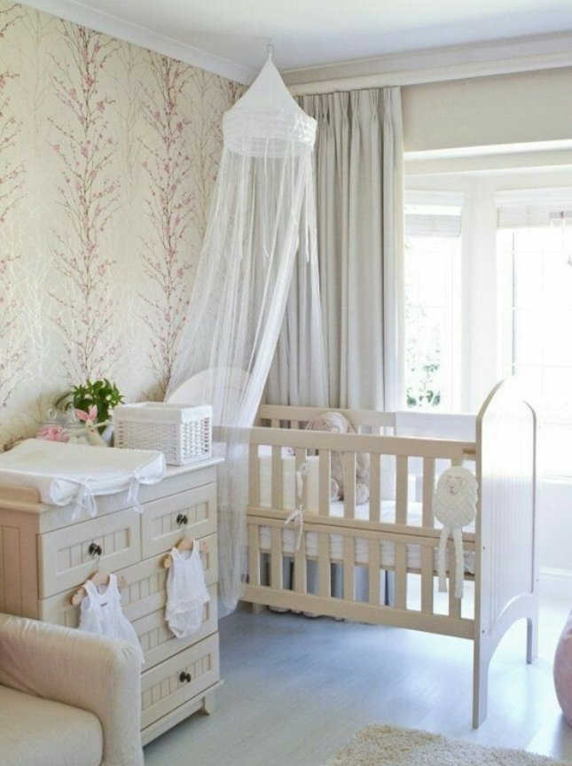 Design Of Baby Room: 33 Cute Nursery For Adorable Baby Girl Room Ideas