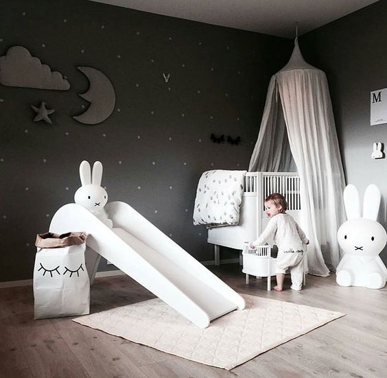 Angel Themed Design For A Baby Girl S Nursery: 9. Space Themed Baby Girl Room