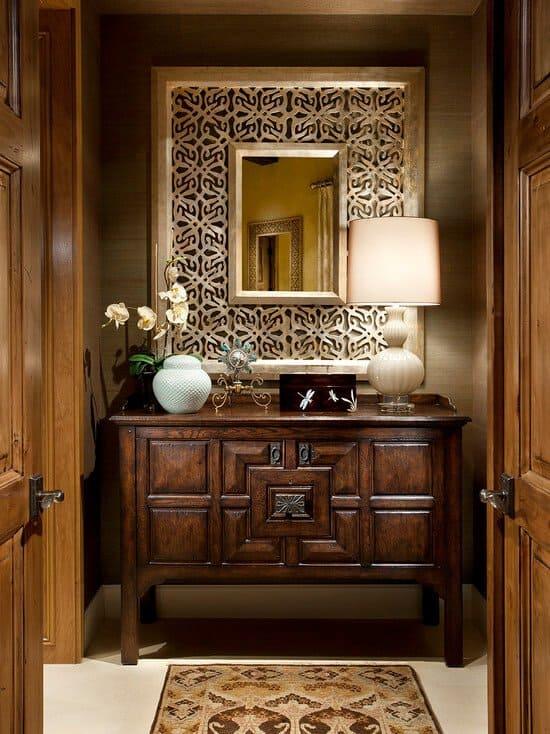 moroccan interior design concept