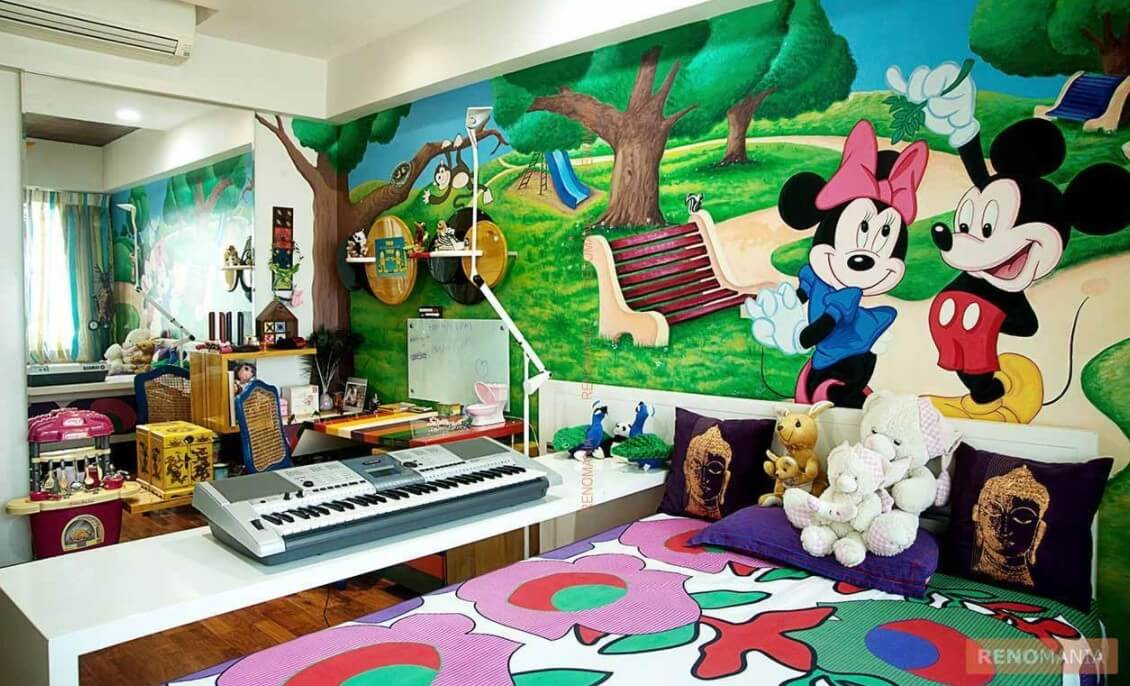27 Kids Bedrooms Ideas That Ll Let Them Explore Their Creativity