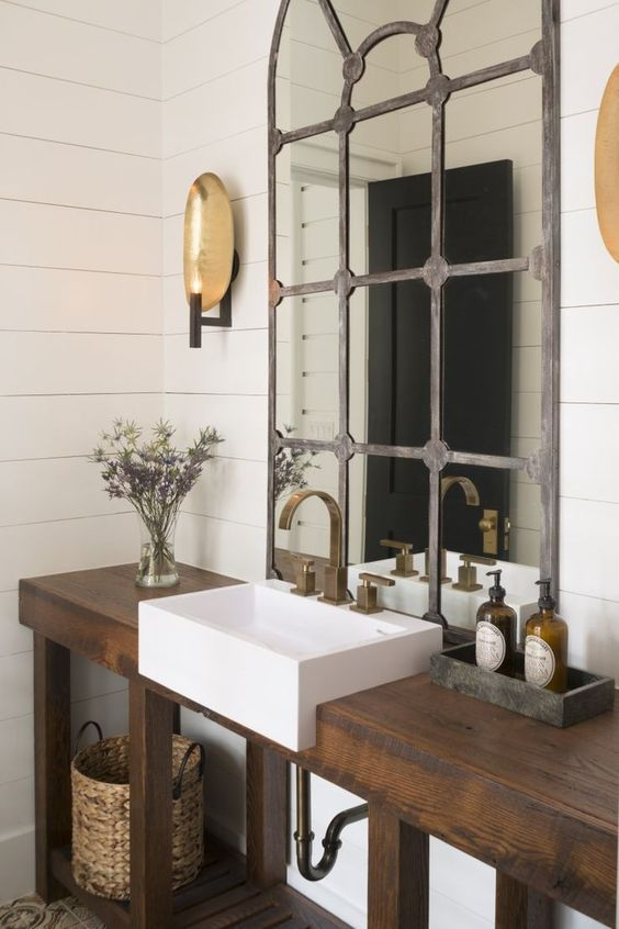 30 Rustic Bathroom Vanity Ideas That Are On Another Level