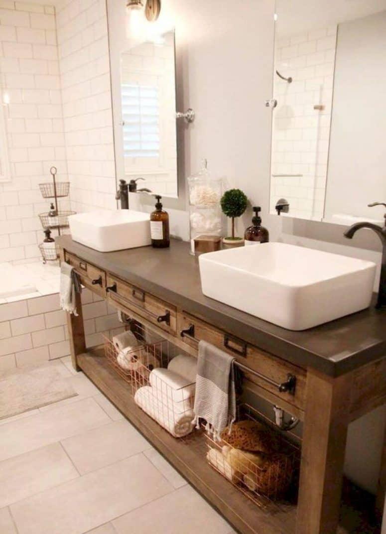 33 best picks of rustic bathroom vanities for Bathroom vanities brooklyn mcdonald avenue