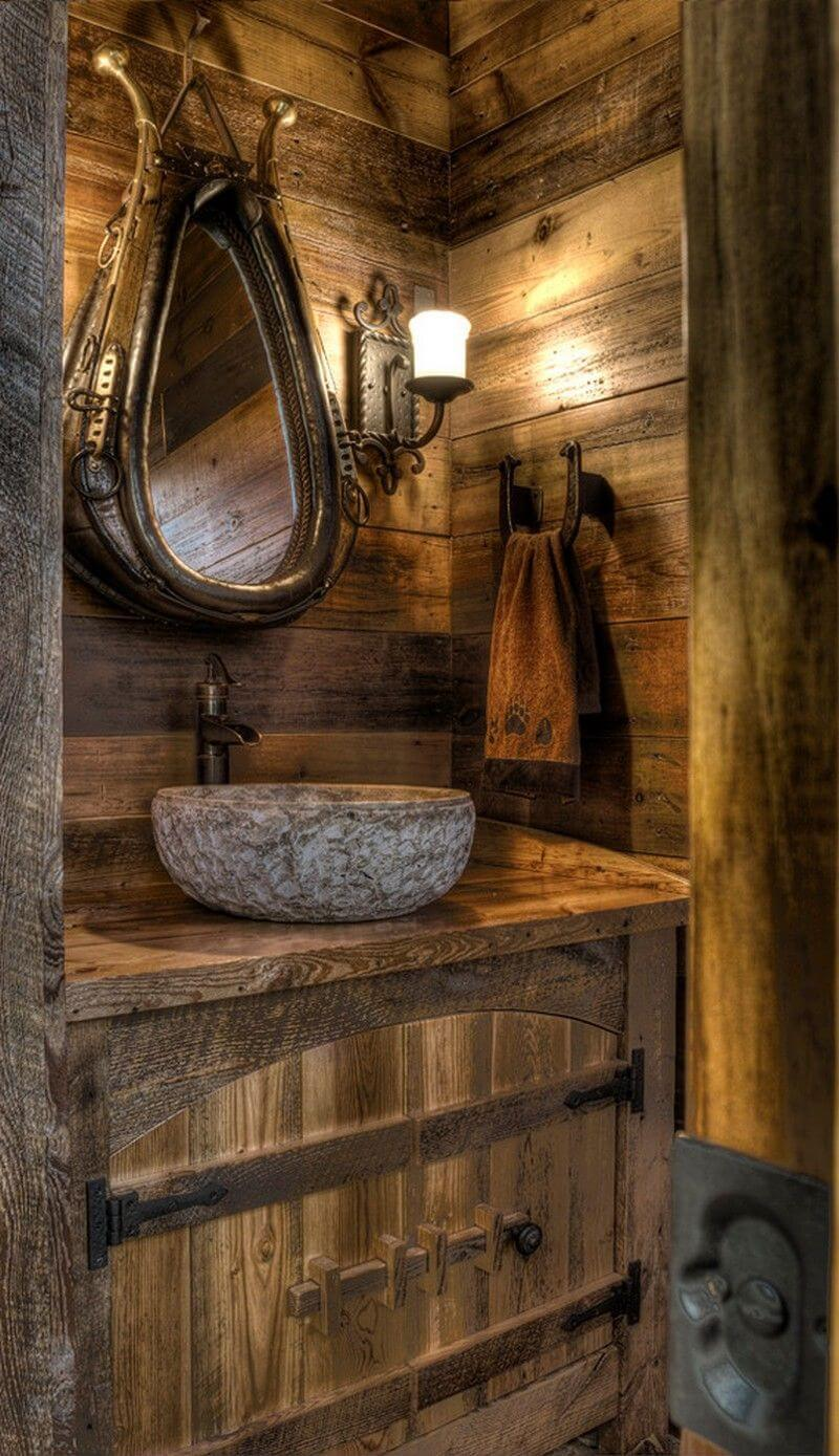 30+ Best Ideas About Rustic Bathroom Vanities You'll Love
