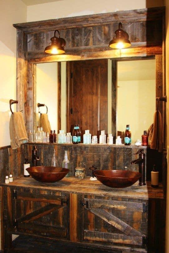 Rustic Bathroom Vanity Ideas - Rustic Bathroom Vanity Ideas Donpedrobrooklyn 525
