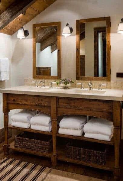 30 Best Ideas About Rustic Bathroom Vanities You Ll Love