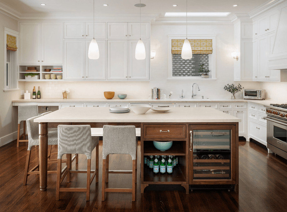 white-counters-and-wood-base