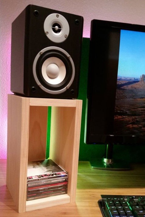 Diy Speaker Stand 25 Creative Ideas That Are Easy To Make