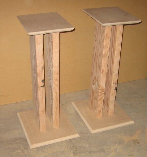 Diy Speaker Stands For Large Speakers