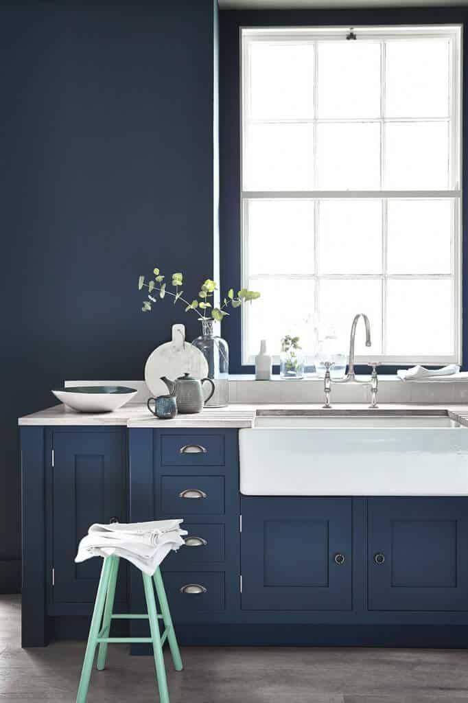 24 Blue Kitchen Cabinet Ideas To Breathe Life Into Your Kitchen - Blue Kitchen Cabinet Ideas Donpedrobrooklyn 60