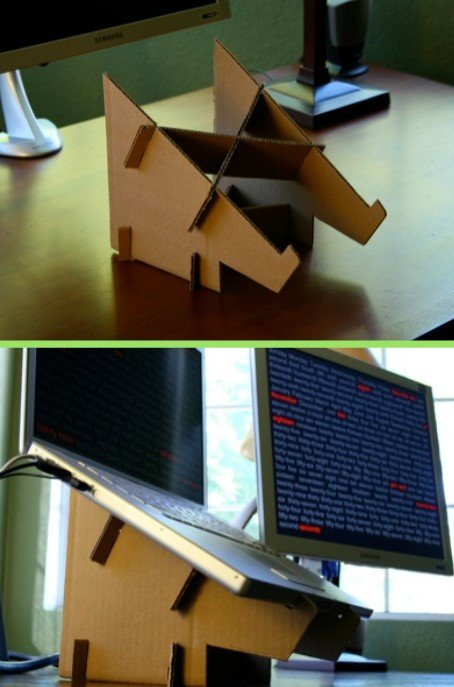 21 Astonishing Diy Computer Desk Ideas (With Plans) - Diy Cardboard Laptop Stand Ideas