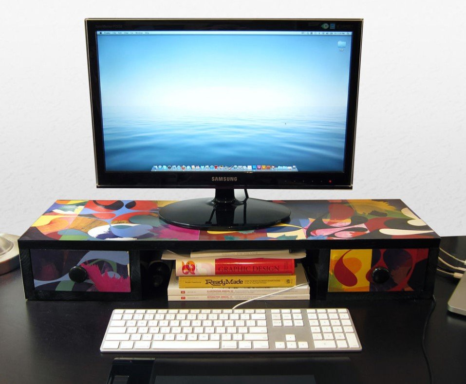 21 Astonishing Diy Computer Desk Ideas (With Plans) - Diy Computer Desk Shelf