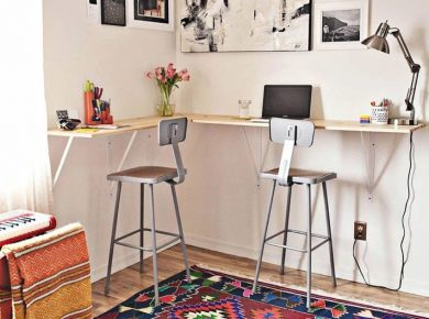 21 Astonishing Diy Computer Desk Ideas (With Plans) - Diy Hanged Computer Desk