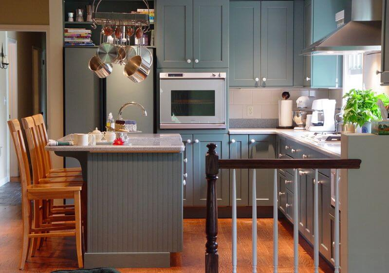 21 Creative Grey Kitchen Cabinet Ideas for Your Kitchen