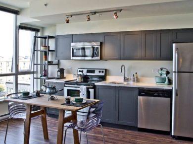 Grey Kitchen Cabinets - Grey Kitchen Cabinet Ideas Beautiful Kitchen Design With Dark Grey Cabinet 18