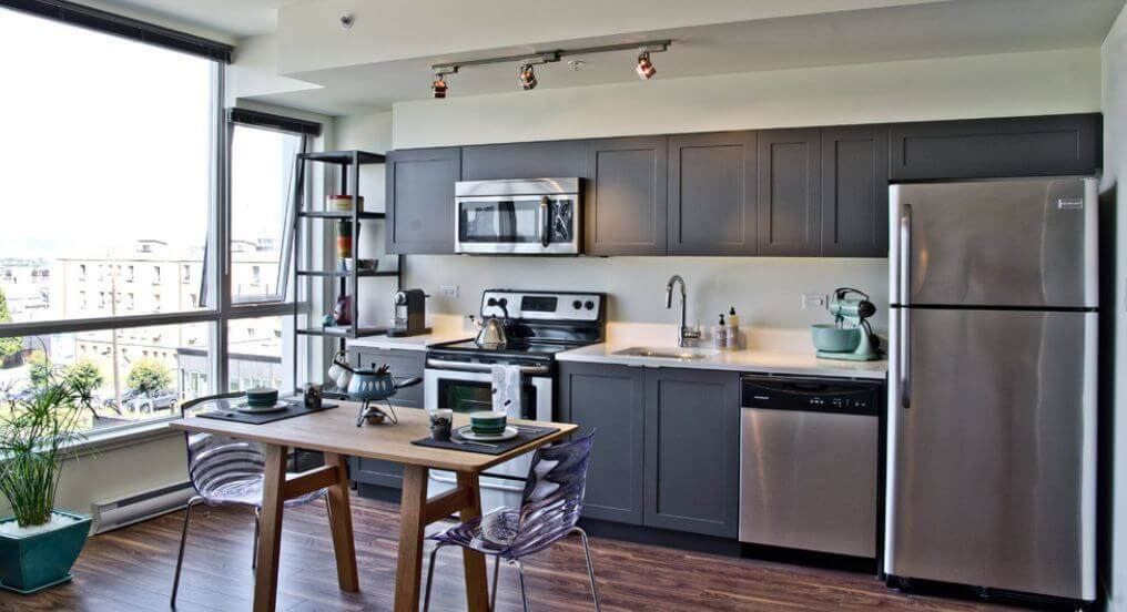 attractive Beautiful Grey Kitchens Part - 12: Grey Kitchen Cabinets