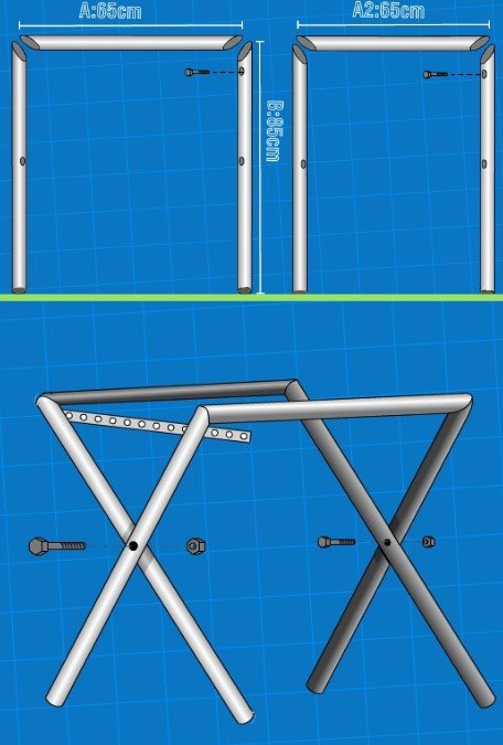 21 Astonishing Diy Computer Desk Ideas (With Plans) - Pipe Desk For Computer Desk