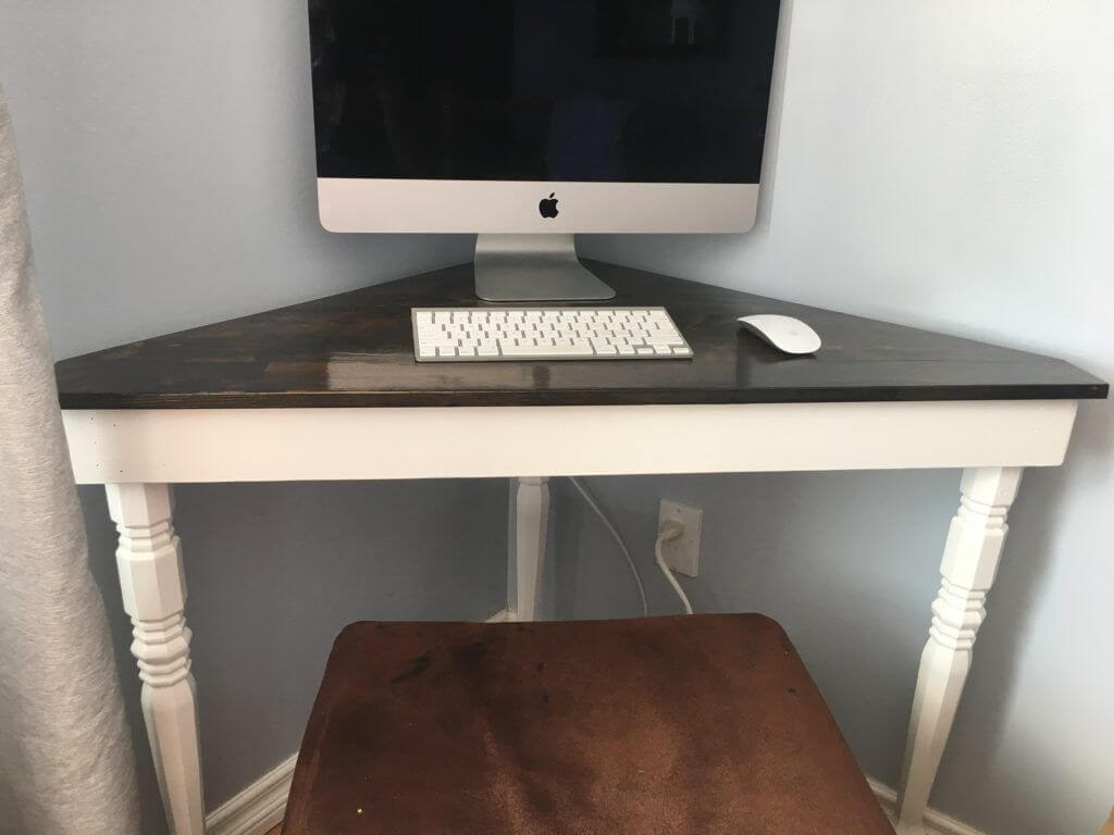 Small Diy Corner Desk