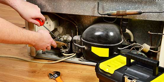 repairing of home appliances
