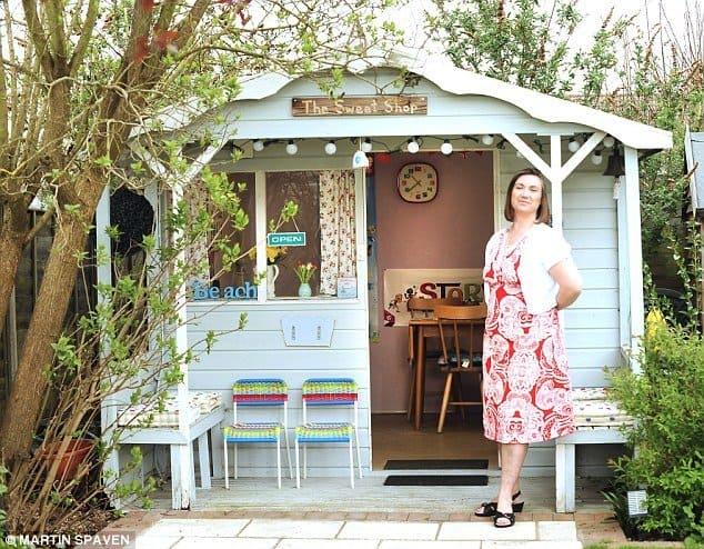 garden shed playhouse ideas