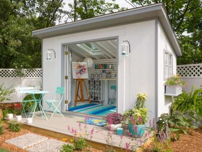 Turning Your Shed Into An Outdoor Play Space For Kids