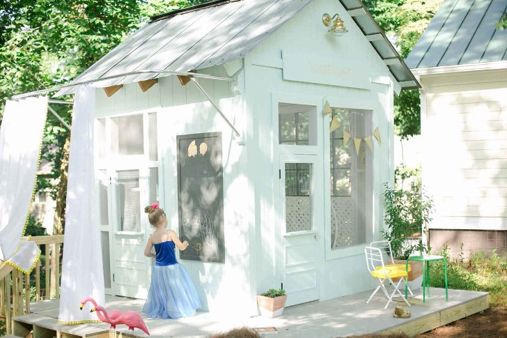 shed playhouse combination