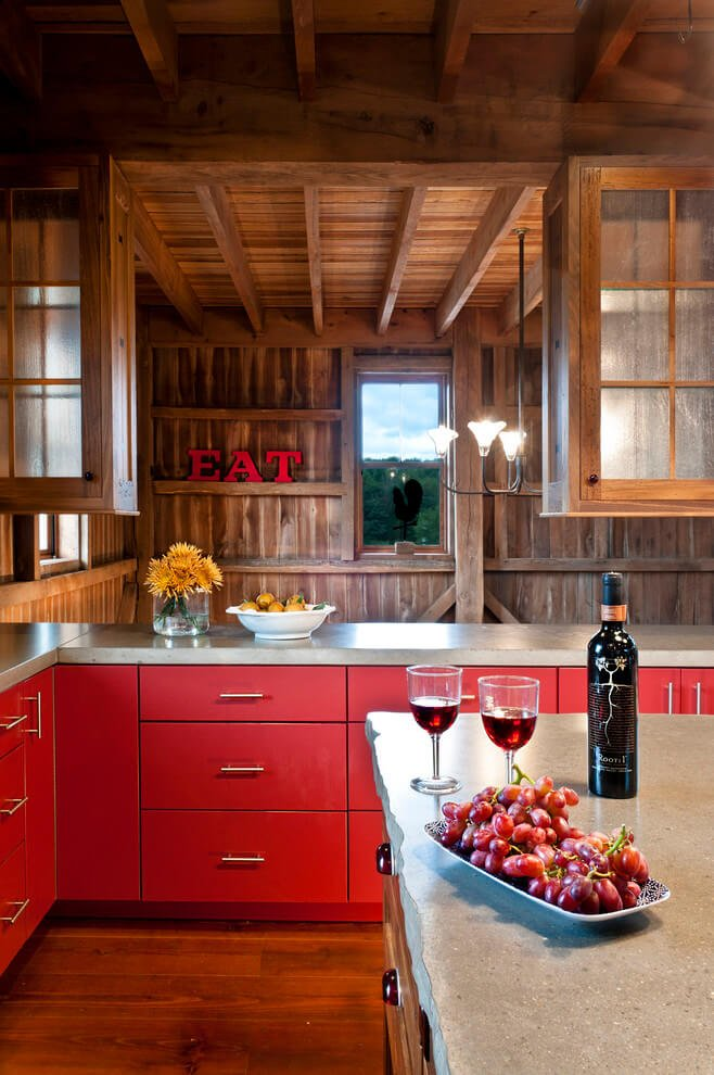 Rustic Farmhouse Kitchen Design. Rustic Kitchen Cabinets Online