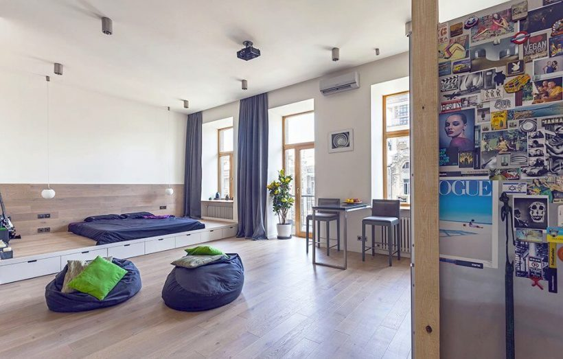 How To Make A Small Apartment Feel Bigger - Open Design Apartment To Make Small Room Feel Bigger