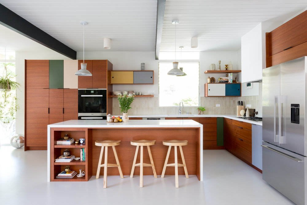 28 Elegantly Stylish Mid Century Modern Kitchen Designs