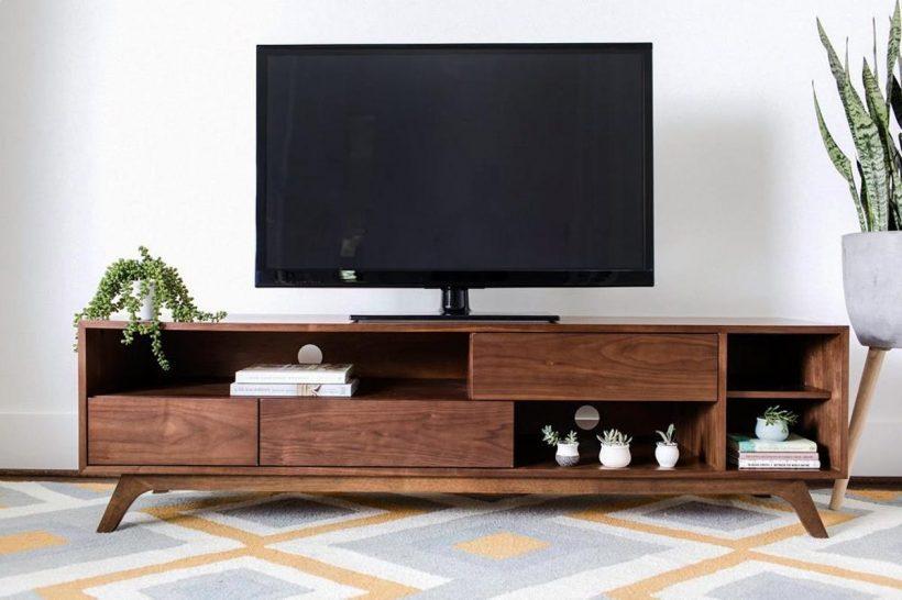 Mid Century Modern Tv Stand - Modishstore Mid Century Modern Tv Stand