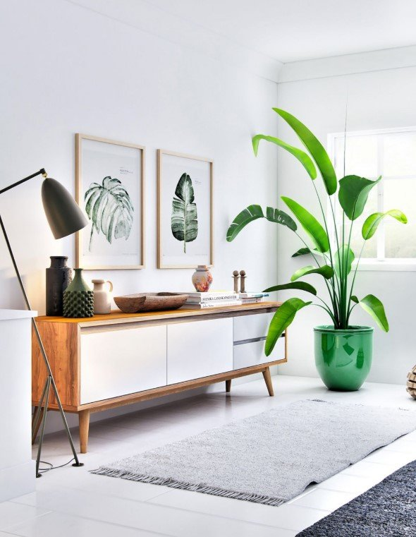 Mid Century Modern Tv Stand - Natural Mid Century Tv Stand