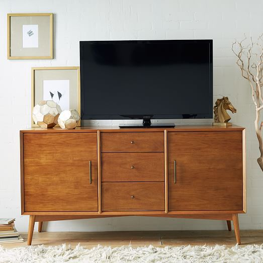 Mid Century Modern Tv Stand - Small Tv Stand With Mid Century Style