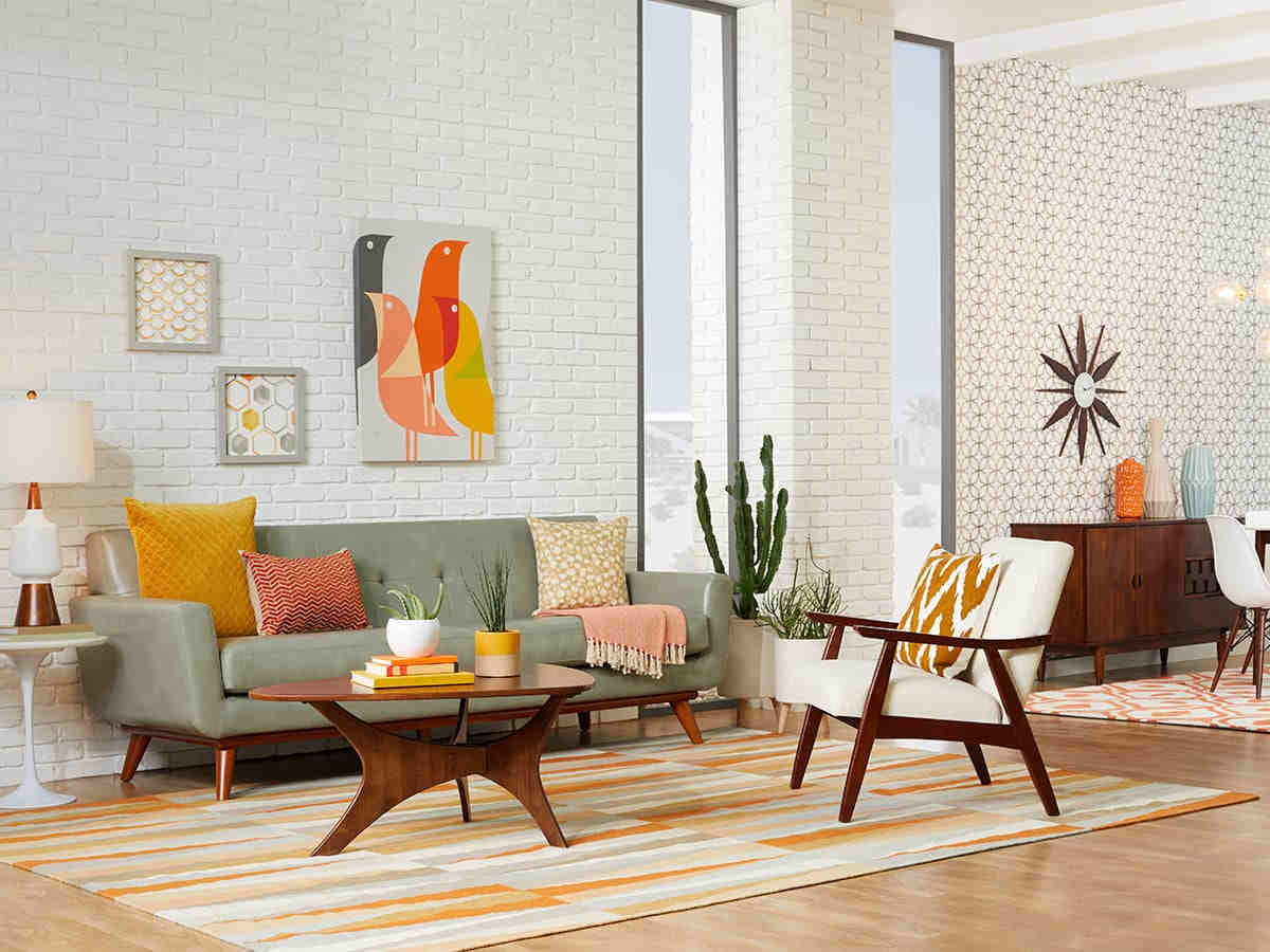 17 Beautiful Mid Century Modern Living Room Ideas You\'ll Love
