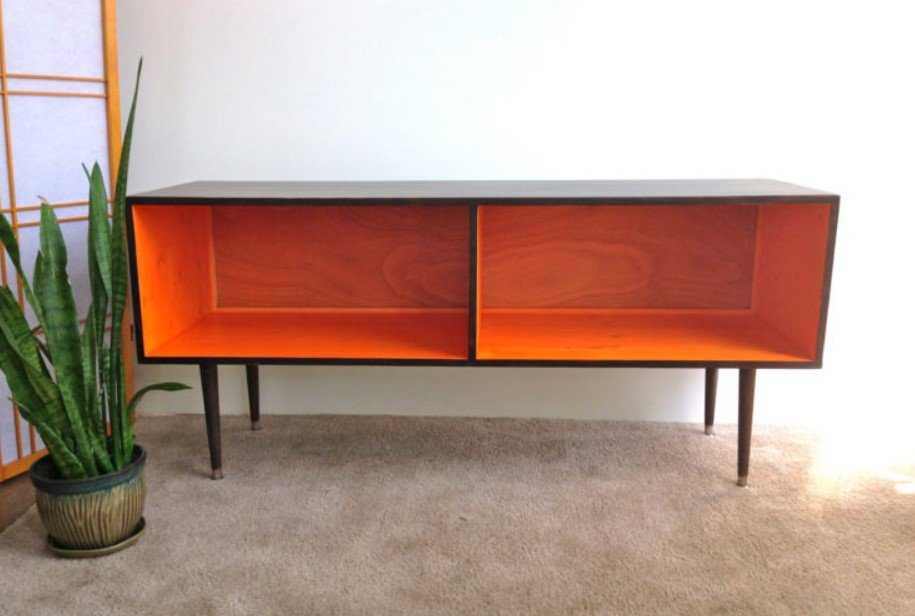 Mid Century Modern Tv Stand - Mid Century Modern Record Player Cabinet Media Table Tv Stand