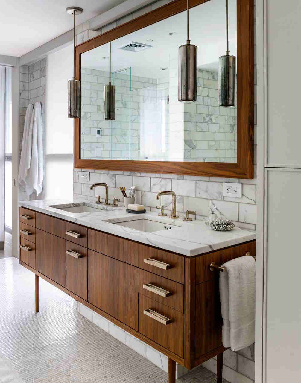 Mid Century Modern Bathroom - Picture Of Mid Century Modern Bathroom Design 1