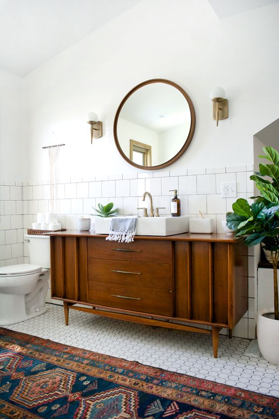 Mid Century Modern Bathroom - Picture Of Mid Century Modern Bathroom Design 10