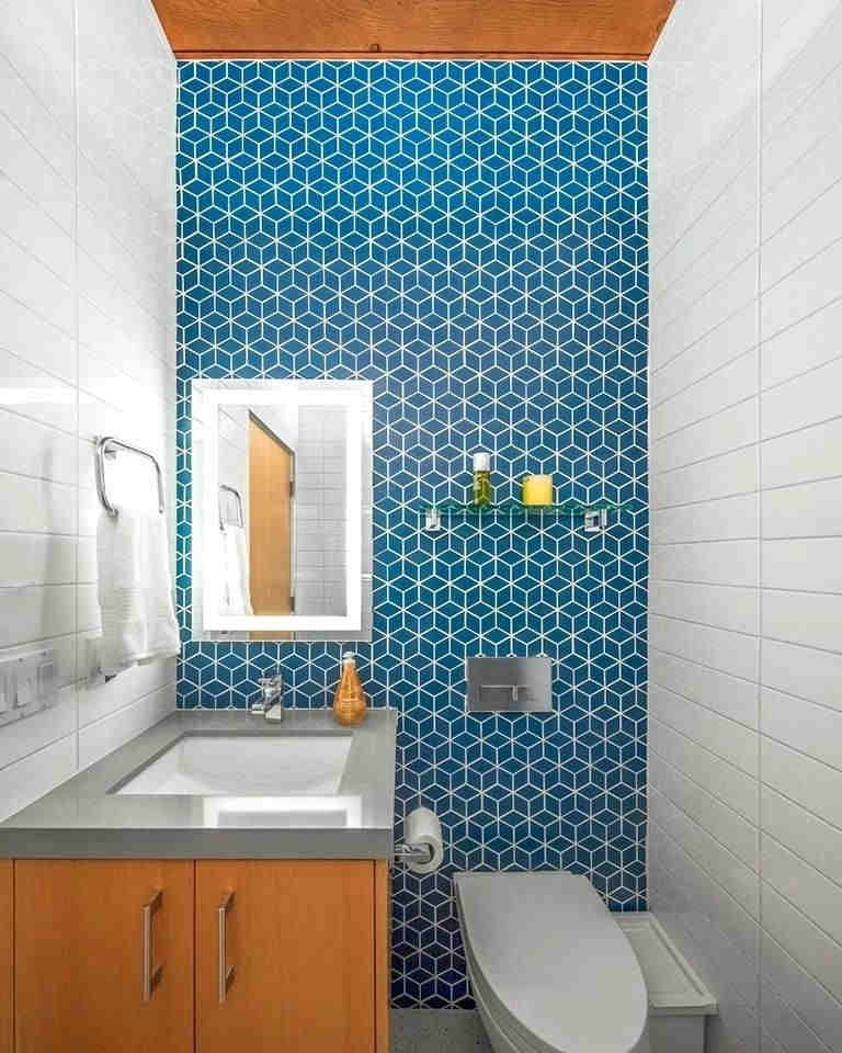 Mid Century Modern Bathroom - Picture Of Mid Century Modern Bathroom Design 11