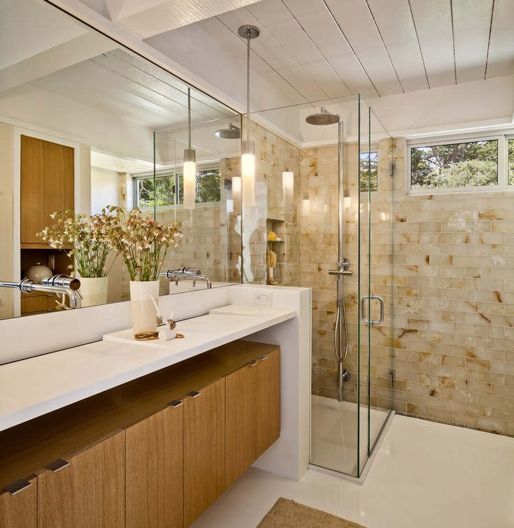 Mid Century Modern Bathroom - Picture Of Mid Century Modern Bathroom Design 12