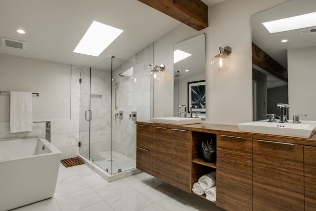 Mid Century Modern Bathroom - Picture Of Mid Century Modern Bathroom Design 2