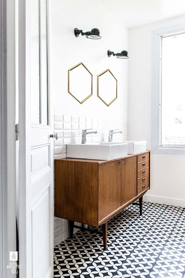 Mid Century Modern Bathroom - Picture Of Mid Century Modern Bathroom Design 4