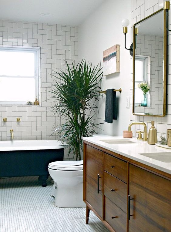 Mid Century Modern Bathroom - Picture Of Mid Century Modern Bathroom Design 5