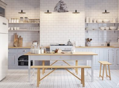 Scandinavian Kitchen Designs - Picture Of Scandinavian Style Kitchen Design Ideas 15