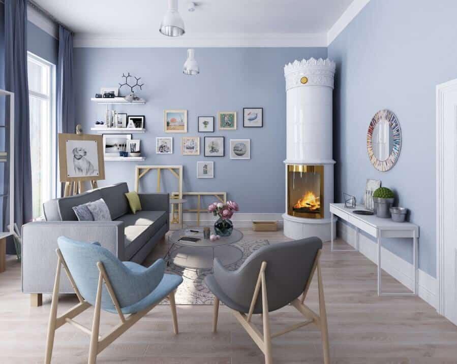 Scandinavian Living Room - Scandinavian Living Room Ideas 10