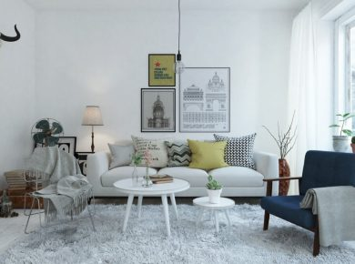 Scandinavian Interior Design - Scandinavian Living Room Ideas 12
