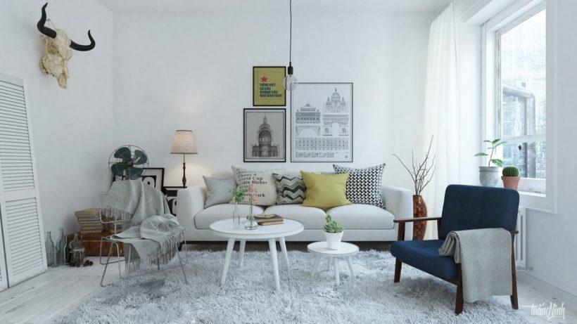 Scandinavian Living Room - Scandinavian Living Room Ideas 12