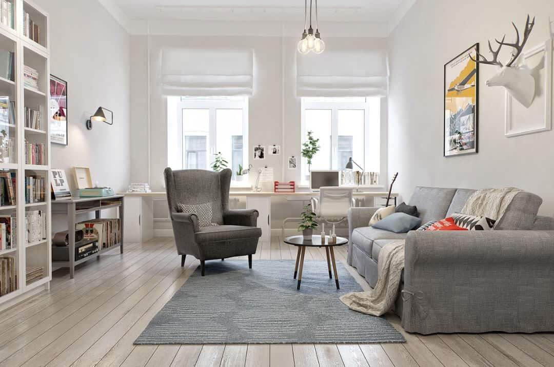 Scandinavian Living Room - Scandinavian Living Room Ideas 13