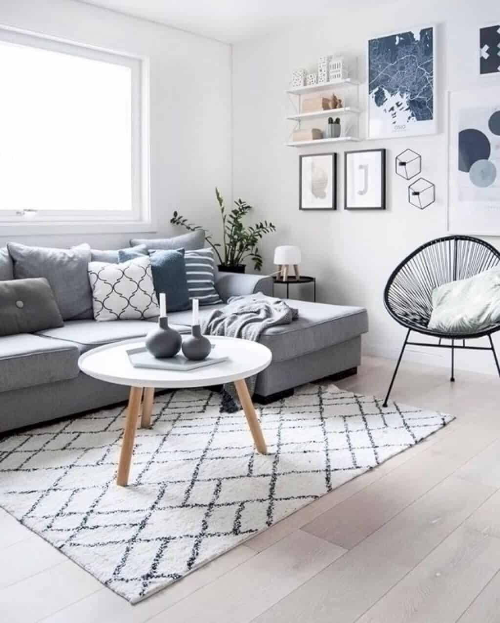 19 Most Mesmerizing Ideas Of Scandinavian Living Room
