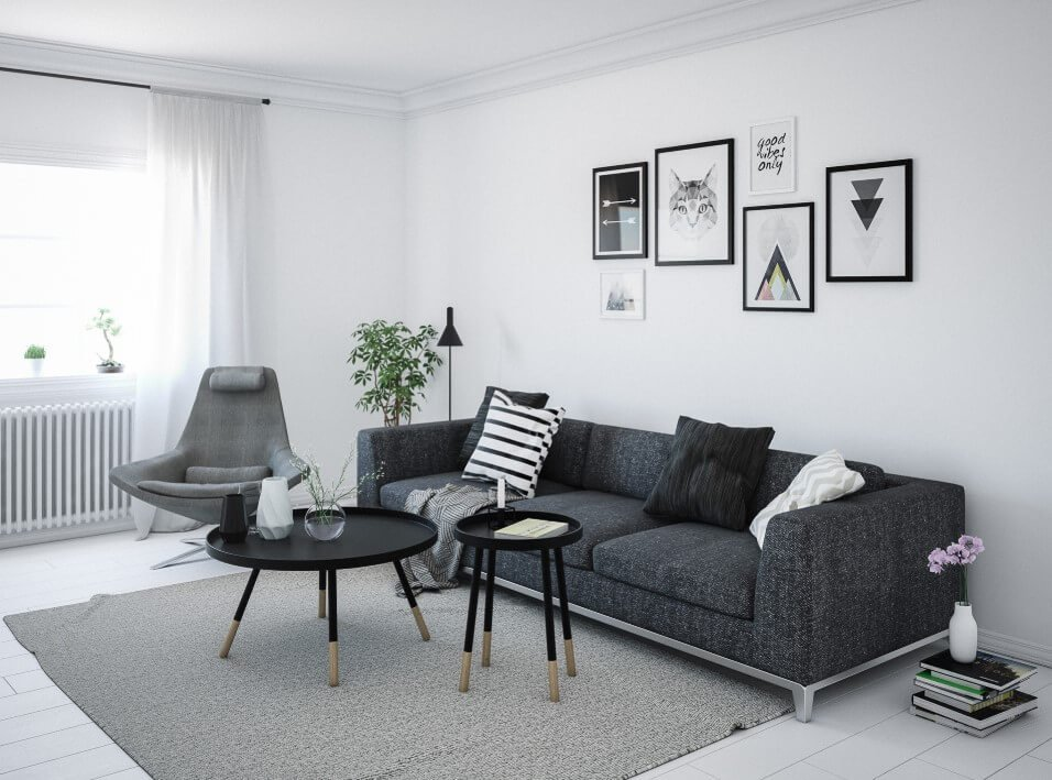 19 Most Mesmerizing Ideas of Scandinavian Living Room